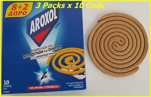 Rotoli-Citronella-Incenso-Profumato-Zanzara-amp-Tigre-Midge-Aroxol-3-x