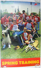 Vintage NIKE Poster Spring Training Ron Howard Sheepdog BEER Cey Reggie Smith ++