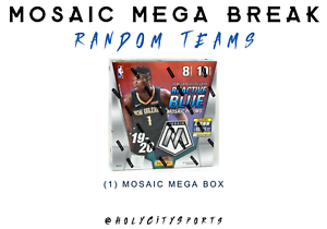 2019-2020-Panini-Mosaic-Mega-Box-Basketball-Random-Team-LIVE-BREAK