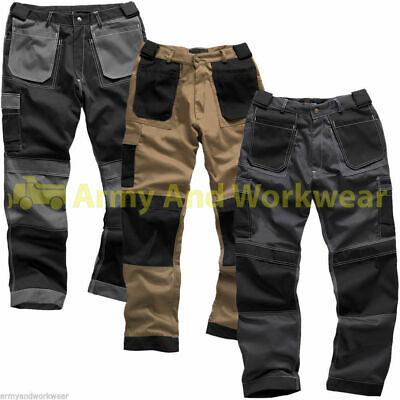 Work Trouser Tuff Multi Pocket Trade Extreme Pro Pants Triple Stitched Workwear