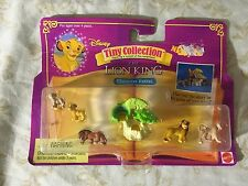 """POLLY POCKET Tiny Collection Disney LION KING Figures """"RARE"""" Character Extras"""