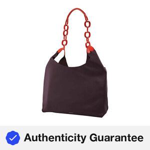 Burberry Medium Two-tone Leather Shopper In Deep Claret 4075564