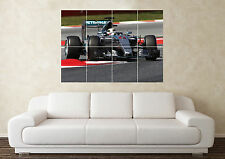 Large Lewis Hamilton Mercedes Formula 1 Sport Car Wall Poster Art Picture Print