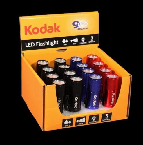 Kodak DEL Flashlight//Lampe de poche 9 erled Display avec 16 pièces