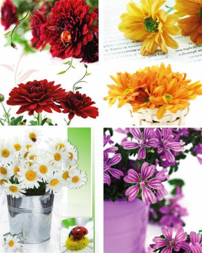 24 Geschenktüten mittel 17263 Blumen Geschenkbeutel Geburtstag Geschenktasche
