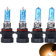 9005XS + 9006XS WHITE XENON HID HALOGEN HEADLIGHT BULBS FOR LOW+HIGH BEAM NEW
