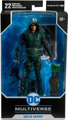 DC Comics Green Arrow 7-Inch Action Figure Mcfarlane Toys In Stock