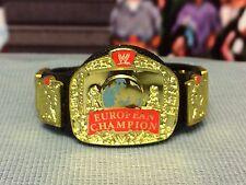 WWE Wrestling Mattel European Championship Title Belt Accessory VAC w/ Logo