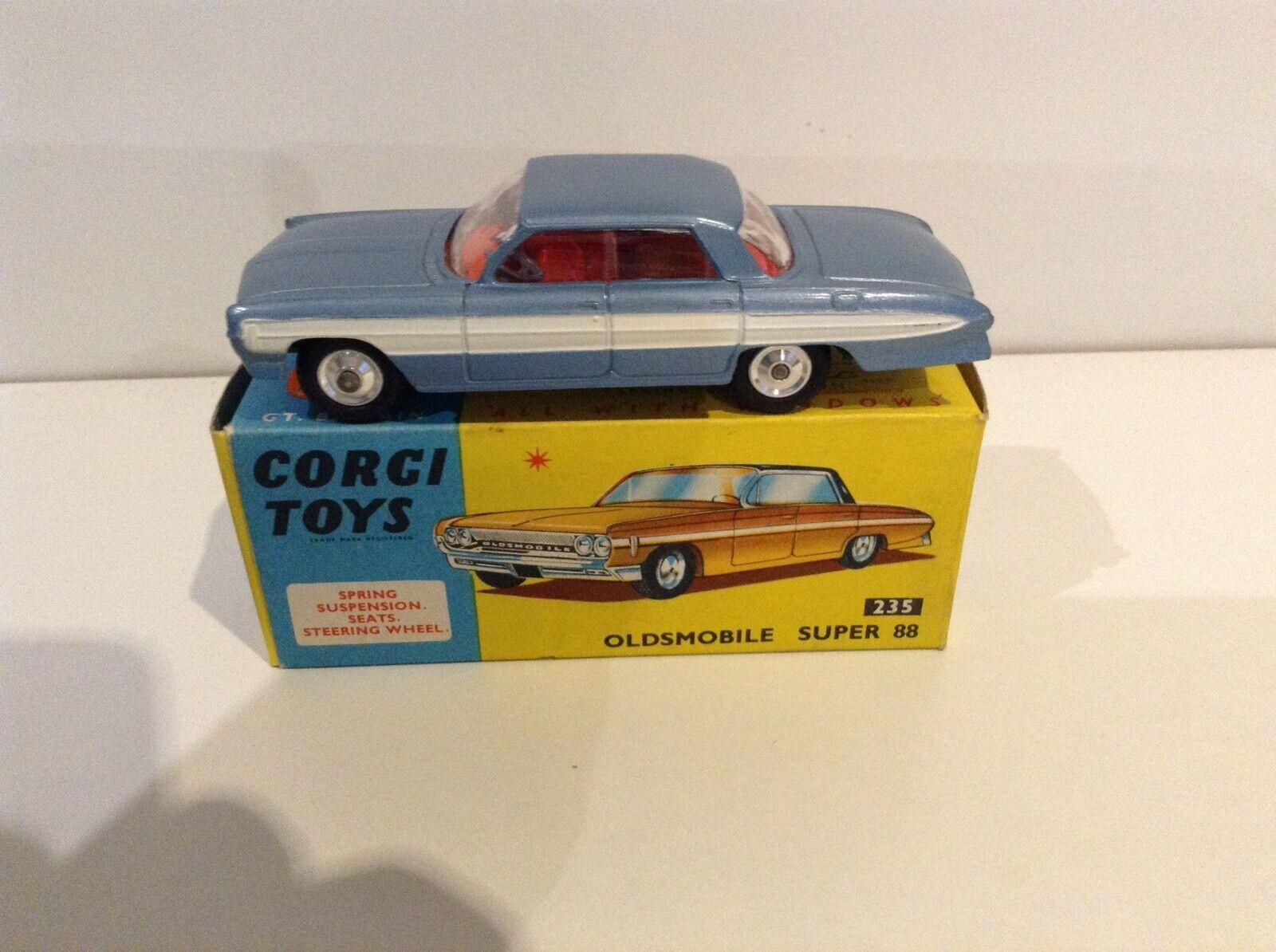 CORGI TOYS 235 Oldsmobile Super 88 Coffret tous  Original  magasin en ligne