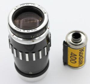 Objectif-FOCA-TELEOPLAR-4-5-13-5-cm-N-121987-Vers-1962-monture-a-vis