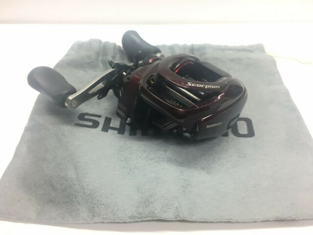 Shimano 14 Scorpion 200HG Right Handle Bait Casting Reel From JAPAN USED