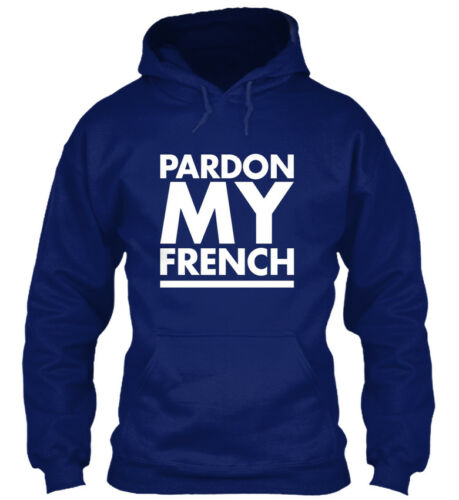 D/'Pardon My French-Standard College Sweat à capuche Standard College Sweat à capuche