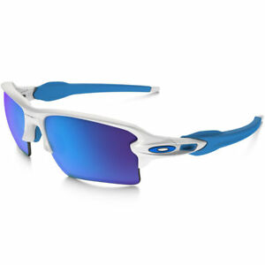 Oakley Flak Jacket 2.0 XL OO9188-02 White With Sapphire Iridium Lens