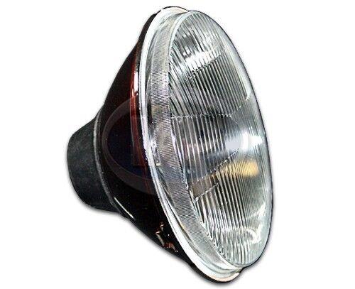 QTY 2 PAIR VW PORSCHE H4 CONVERSION HEADLIGHT FLAT LENS BULB 7/'/' ROUND AC945461