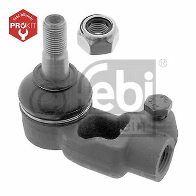 Pack of 1 front axle both sides, inner febi bilstein 01713 tie rod end with lock nut