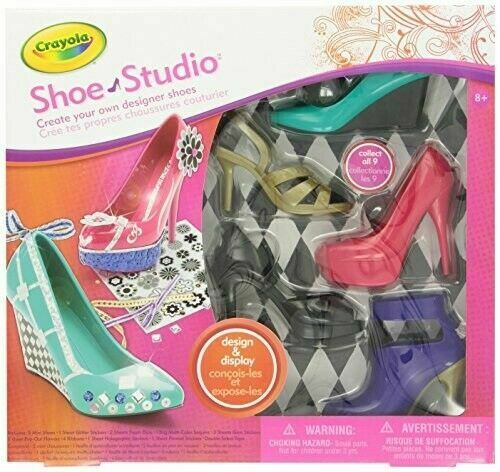 Crayola Shoe Studio Design Display Craft For Sale Online Ebay