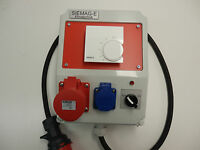 Elektroheizung-heizungsthermostat Für Kraftstrom 16a-400v Oder 32a400v