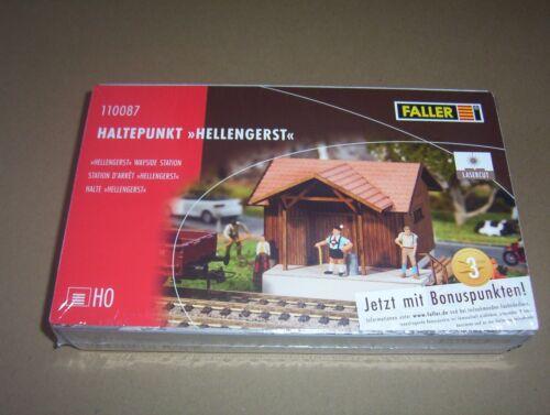 """Faller 110087 Haltepunkt /""""Hellengerst/"""""""