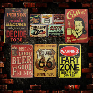 Retro-Vintage-Metal-Tin-Sign-Poster-Plaque-Bar-Pub-Club-Wall-Home-Decor-30x20cm