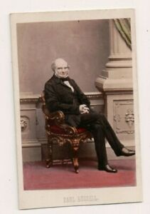 Vintage-CDV-John-Russell-1st-Earl-Russell-British-Prime-Minister