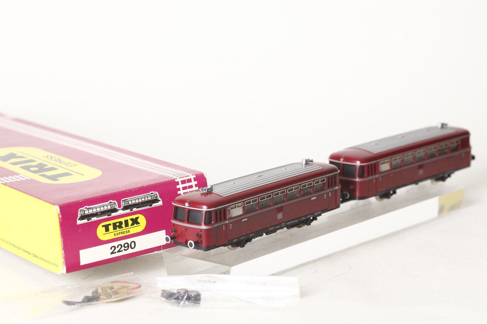 Trix Express H0 Corriente Continua 2290 Ferrobús Rojo con Sidecar (0036-60)