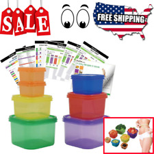 New 21 Day Portion Control Diet Container 7 Kit Fix