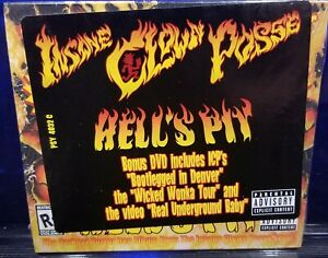 Insane Clown Posse - Hell's Pit CD / DVD SEALED Wicked Wonka ICP 2004 twiztid