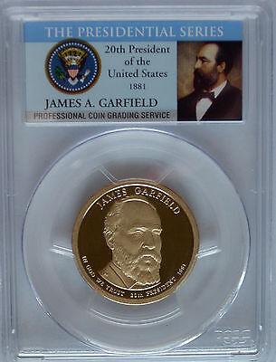 2011 S James Garfield NGC PR69 Ultra Cameo Presidential Golden Dollar #20$ Coin