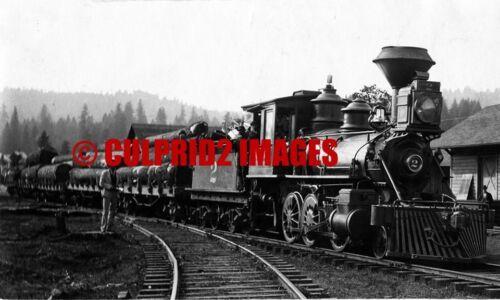 SFC/&W Salem Falls City /& Western Locomotive No 2 Oregon Log Train