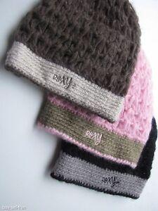 new-ROXY-Ladies-GIRLS-HAT-CAP-BEANIE-Knit-Knitwear-PINK-OLIVE