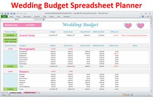 Details About Wedding Budget Spreadsheet Wedding Budget In Excel Wedding Budget Planner