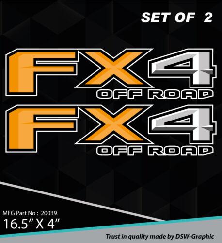 4X4 SPORT OFFROAD DECAL STICKER FOR 2015 2016 FX4 F150 F250 F350 RANGER 20039