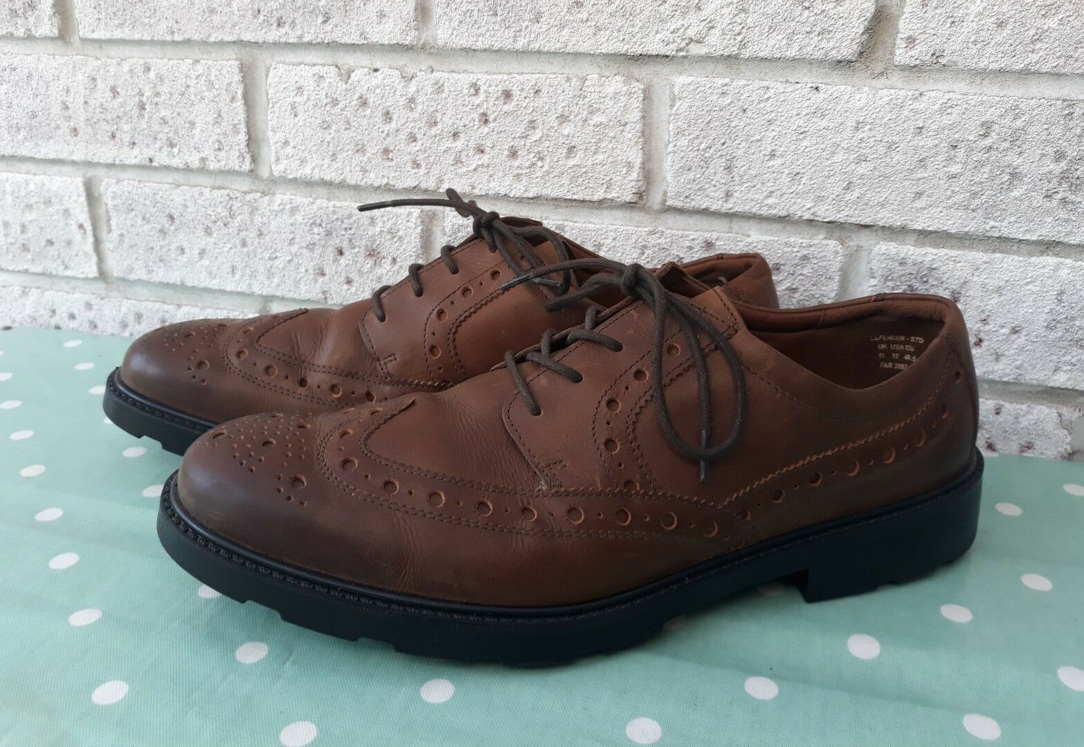 HOTTERS|FALCON BROGUES|TANNED LEATHER Schuhe|COMFORT CONCEPT|BRAND NEW NEW CONCEPT|BRAND a8b230