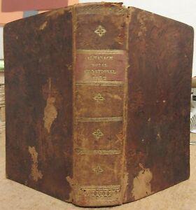 ALMANACH-ROYAL-ET-NATIONAL-1832-ADMINISTRATION-FRANCAISE-MAISON-ROYALE-ARMEE