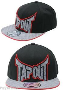 mens tapout quotdont tread on mequot ufc mma hat cap new snap