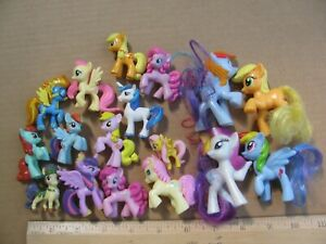 My Little Pony Mlp Lot Large Small Figures Rainbow Dash G3 G4 Ponies Ebay