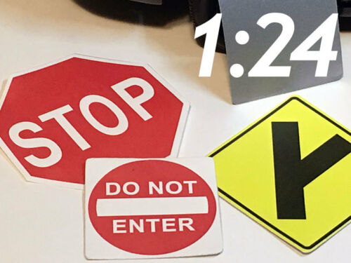 1//24 Scale Street Signs