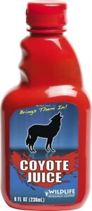 NEW-Wildlife-Research-526-Coyote-Juice-Calling-Scent-8-Fluid-Ounce