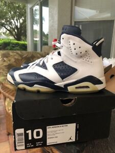 new product 42782 5b7dd Image is loading 2012-Nike-Air-Jordan-VI-6-Retro-OLYMPIC-