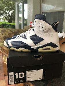new product f1544 adcc0 Image is loading 2012-Nike-Air-Jordan-VI-6-Retro-OLYMPIC-