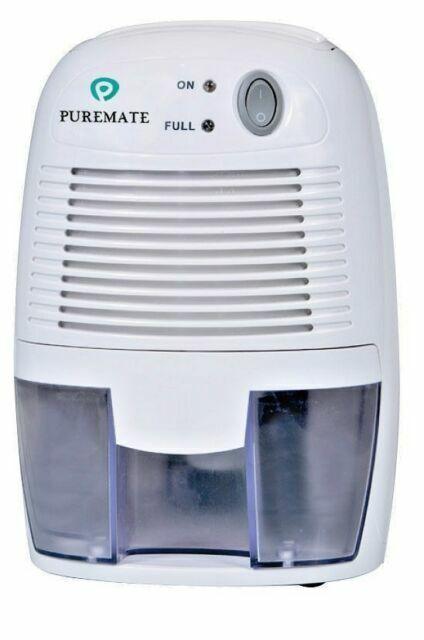 Finether 500ml Mini Air Dehumidifier Portable Dryer Home Bathroom Kitchen Garage Damp UK