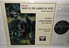 SXL 2091 De Falla Nights In The Garden Of Spain Rodrigo Guitar Concerto Argenta