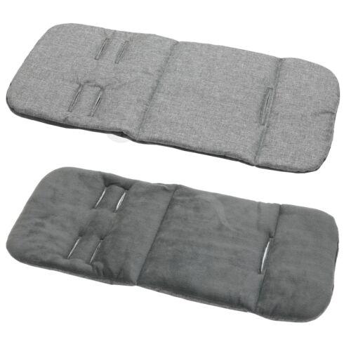 d grey Pram stroller buggy LINER INSERT soft washable universal  Grey Melange