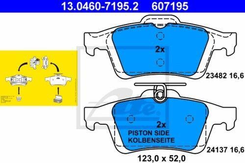 Garnitures De Freins Set arriere ø280 MAZDA 5 3 3874335 2x Unités antithrombine Disques De Frein