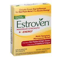 5 Pack - Estroven Maximum Strength Caplets 28 Each on sale