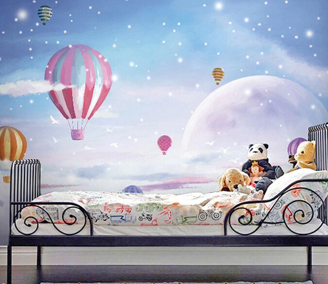 3D Traum Luftballons 09423 Fototapeten Wandbild Fototapete BildTapete FamilieDE