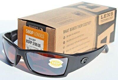COSTA DEL MAR Corbina 580 POLARIZED Sunglasses Blackout//Silver Mirror 580P NEW