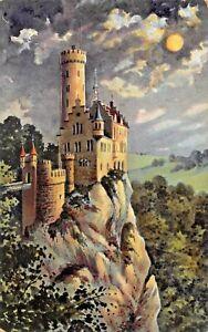 Germania-Voilmondnacht-Bein-Schlos-LICHTENSTEIN-820-M-Foto-Cartolina