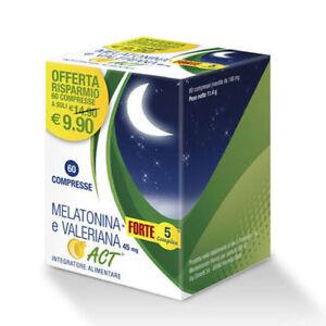 Melatonina-Act-60-compresse-Valeriana-e-Melatonina
