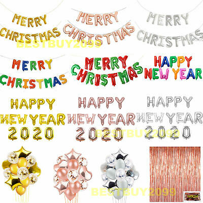 merry christmas happy new year 2020 balloons banner bunting balloon xmas party ebay merry christmas happy new year 2020 balloons banner bunting balloon xmas party ebay